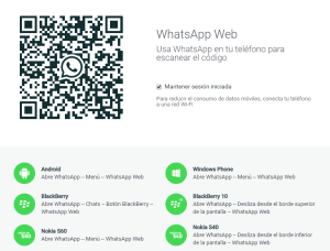WhasApp Web